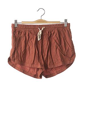 Short marron BILLABONG pour femme