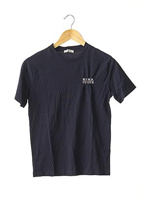 T-shirt manches courtes bleu NINA RICCI pour femme