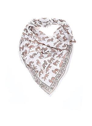 Foulard blanc APACHES pour femme
