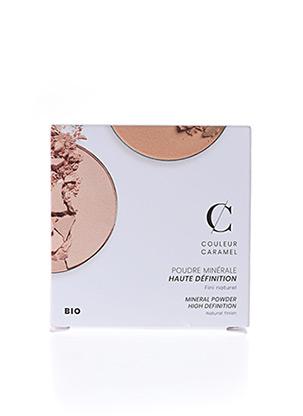 Maquillage blanc COULEUR CARAMEL pour femme
