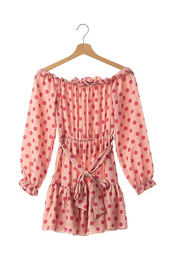 Robe courte rose PRETTY LITTLE THING pour femme