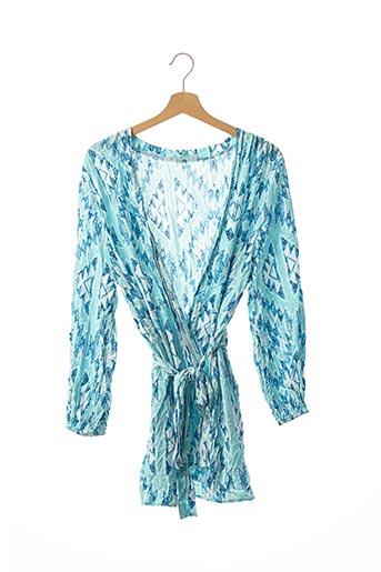 Veste casual bleu MELISSA ODABASH pour femme