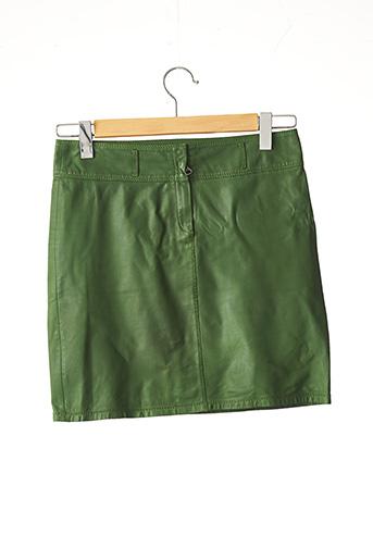 Jupe courte vert SYLVIE SCHIMMEL pour femme