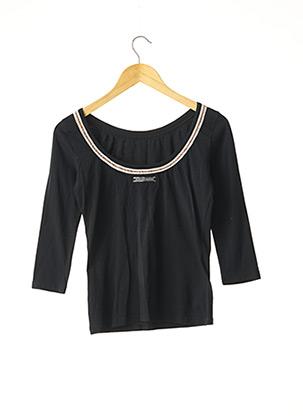 T-shirt manches longues noir JEAN PAUL GAULTIER pour femme