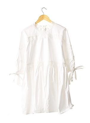 Robe mi-longue blanc ANDREA MORANDO pour femme