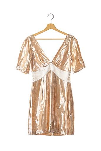 Robe courte rose PINKO pour femme