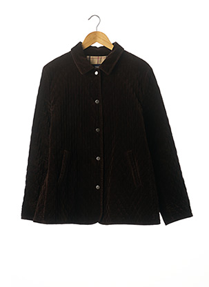 Veste casual marron BURBERRY pour femme