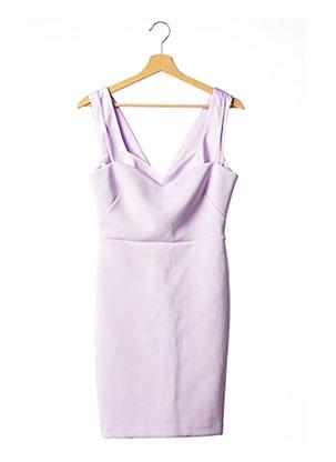 Robe courte violet MARCIANO pour femme