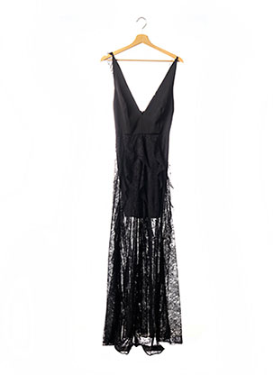 Robe longue noir MARCIANO pour femme