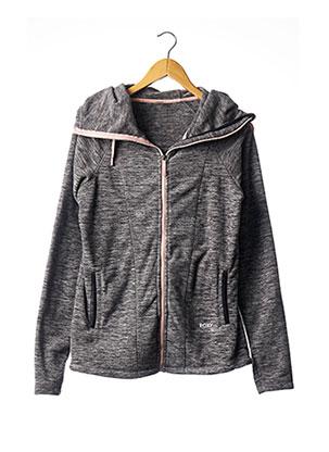 Veste casual gris ROXY pour femme