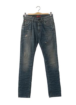 Jeans coupe slim bleu JACK & JONES pour homme