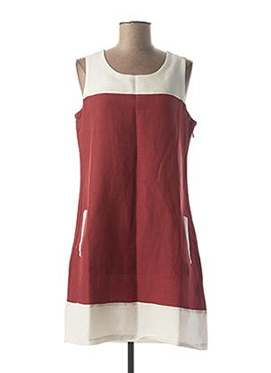 Robe courte rouge ESPRIT DE LA MER pour femme