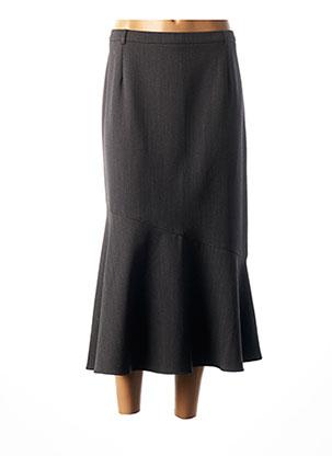 Jupe longue gris CHRISTIAN MARRY pour femme
