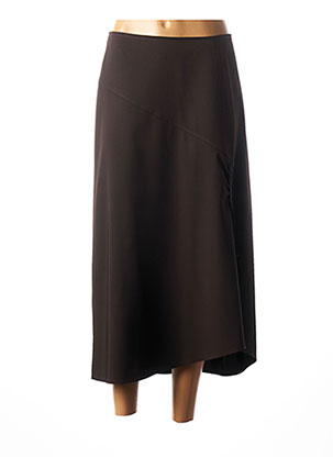 Jupe longue marron CHRISTIAN MARRY pour femme