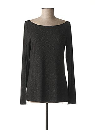 T-shirt manches longues noir NINATI pour femme