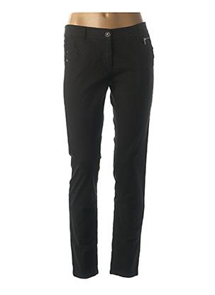 Jeans coupe slim noir MARC CAIN pour femme