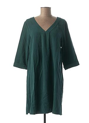 Robe courte vert ESPRIT DE LA MER pour femme