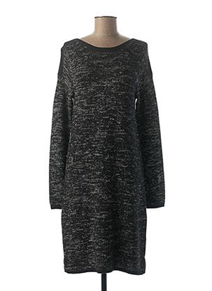 Robe pull noir EDC pour femme