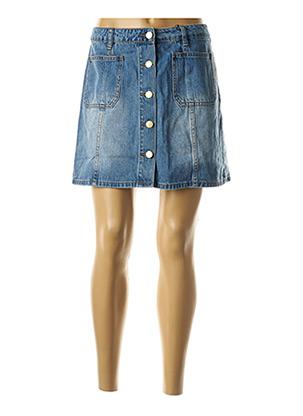 Jupe courte bleu LA PETITE ETOILE pour femme
