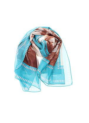 Foulard bleu LISE CHARMEL pour femme
