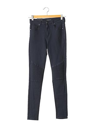 Jeans skinny bleu NINA CARTER pour femme