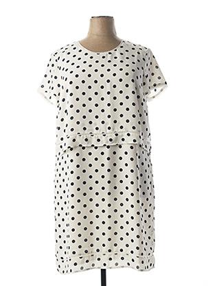 Robe mi-longue blanc DIANE LAURY pour femme