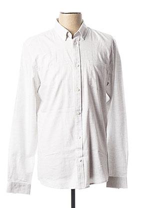 Chemise manches longues gris MINIMUM pour homme