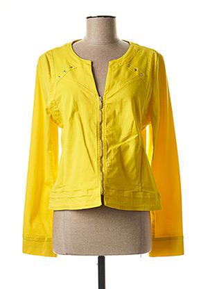 Veste casual jaune PAUL BRIAL pour femme