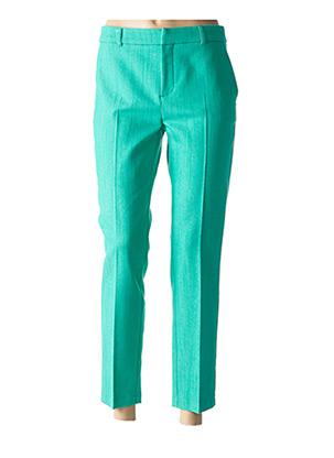 Pantalon chic vert INDIES pour femme
