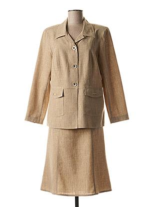 Veste/jupe beige TELMAIL pour femme