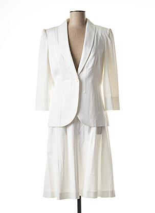 Veste/jupe blanc SYM pour femme