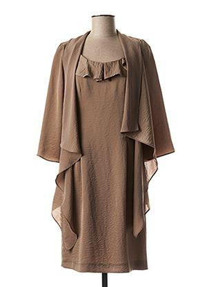 Veste/robe beige NOMINAL pour femme