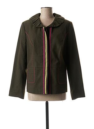 Veste casual vert LEWINGER pour femme