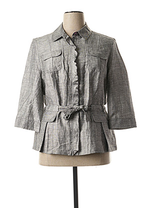 Veste casual gris LEBEK pour femme
