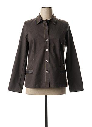 Veste casual marron TELMAIL pour femme