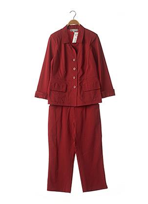 Veste/pantalon rouge TELMAIL pour femme