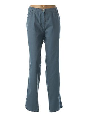 Pantalon casual bleu GRIFFON pour femme