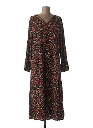 Robe longue noir CISO pour femme