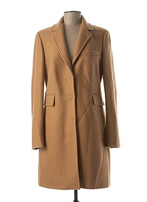 Manteau long marron LIU JO pour femme