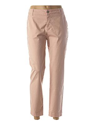 Pantalon 7/8 rose LA FEE MARABOUTEE pour femme