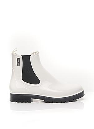 Bottines/Boots blanc MATT & NAT pour femme