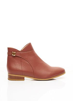 Bottines/Boots marron MINUIT SUR TERRE pour femme