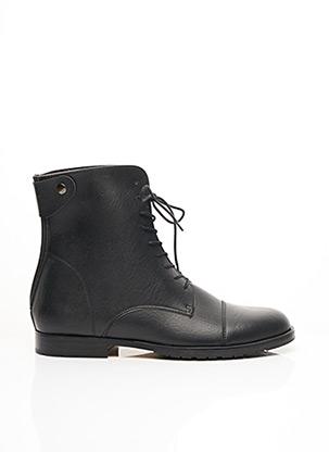 Bottines/Boots noir GOOD GUYS pour homme