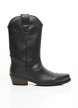 Bottines/Boots noir GOOD GUYS pour femme