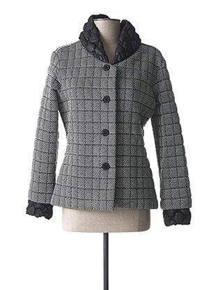 Manteau court gris LO! LES FILLES pour femme