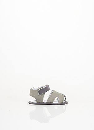 Sandales/Nu pieds gris P'TICHOU pour enfant