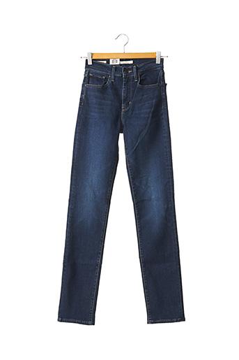 Jeans coupe slim bleu LEVIS pour femme
