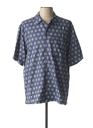 Chemise manches courtes bleu DOCKERS pour homme