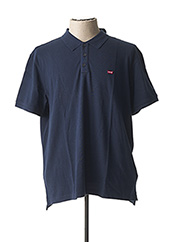 Polo manches courtes bleu LEVIS pour homme seconde vue