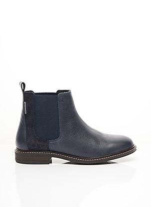 Bottines/Boots bleu COTEMER pour femme